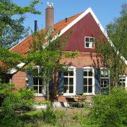Boerderij van Aardewerk de Stegge in Winterswijk.