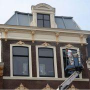Wagenstraat Den Haag. In 2013 won Sibbing schilderwerken de schildersprijs 2013 met producten van Allback.