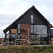 Zalk. Geheel ecologisch gebouwd huis en geschilderd met Allback lijnolieverf.